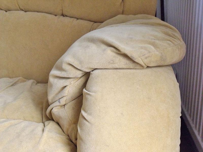 Sofa arm rest